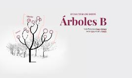 Árboles B