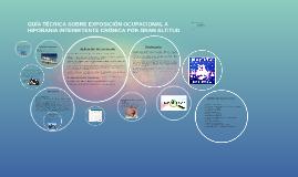 GUÍA TÉCNICA SOBRE EXPOSICIÓN OCUPACIONAL A HIPOBARIA INTERM