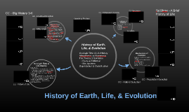 History of Life & Evolution