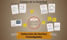 Detección de Hechos Investigables