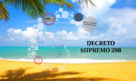 Copy of Decreto Supremo 298 para Transviña