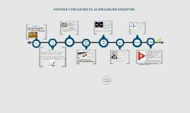 Copy of Historia y Evolución de la Evaluación Educativa