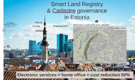 Land Cadastre and Land Registry interoperability