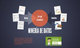 MINERÍA DE DATOS