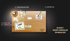 GT: I Diseño curricular en Andalucía