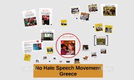 No Hate Speech Movement Greece