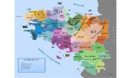 Coastline urbanization in Brittany