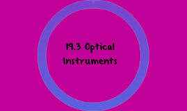 19.3 Optical INstruments