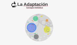 La Adaptación