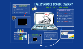Copy of Talley Hour of Code 2016