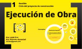 Gestión de Proyectos de Construcción Día 1