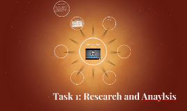 Task 1: Research and Anaylsis