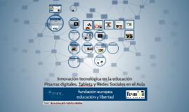 M2. Innovación y tecnología en la educación