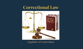 Correctional Law