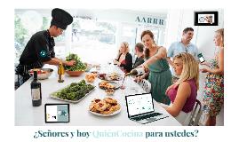 Presentación TFM - QuienCocina.es