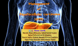 Management of HCC