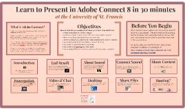 Presenter's Guide to Adobe Connect
