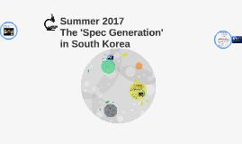 Asia Pacific College Summer 2017: Spec Generation