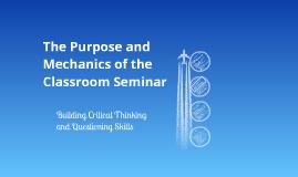 Socratic(ish) Seminar PD