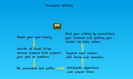 Starside - Persuasive Writing