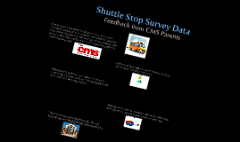 Shuttle Stop Survey Data