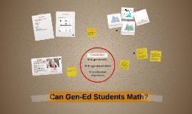 Copy of Stats 135: Can Gen-Ed Students Math?