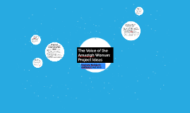Amazigh Women Project Ideas