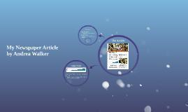 Presentation on Newspaper Article - COMM 1016