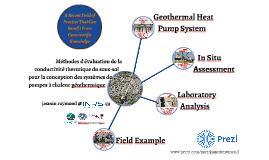 Méthodes d'évaluation de la conductivité thermique du sous-sol pour la conception des systèmes de pompes à chaleur géothermique