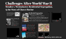 Challenges After World War II