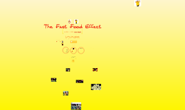 Copy of The Fast Food Effects