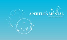 APERTURA MENTAL
