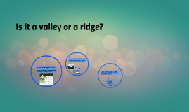 Is it a valley or a ridge?