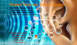 Copy of Hospital Noise and Patient experience