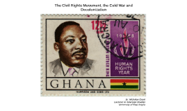 The Civil Rights Movement from a Global Perspective