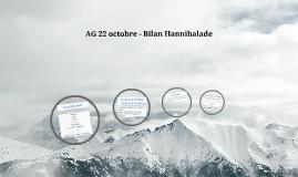 AG 22 octobre - Bilan Hannibalade