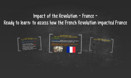 Impact of the Revolution - France -