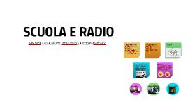 SCUOLA E RADIO