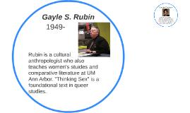 Gayle S. Rubin
