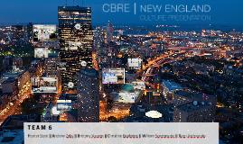 CBRE | NE Culture Presentation