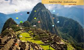 América Pré - Colombiana
