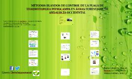 MÉTODOS BLANDOS DE CONTROL DE LA PLAGA DE THAUMETOPOEA PITYO