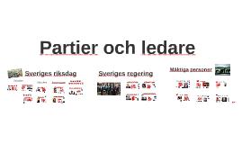 Partier och ledare