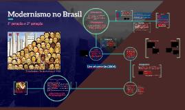 Modernismo Brasil - 1a geração