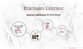Pràctiques Externes: