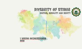 DIVERSITY OF ETHICS