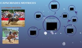 CAPACIDADES MOTRICES
