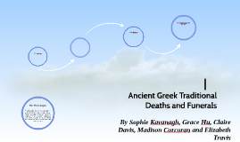 Ancient Greek Traditional Deaths and Funerals
