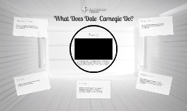 What Does Dale Carnegie Do?