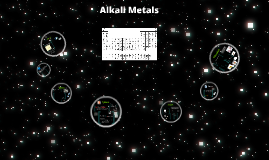 Copy of Alkali Metals